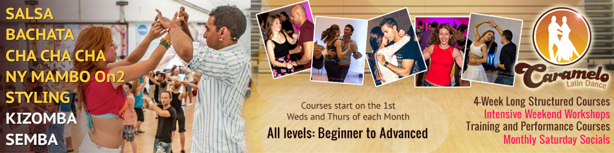 Salsa Classes in London, Bachata, Kizomba, Cha Cha Cha, Mambo & Latin Dancing