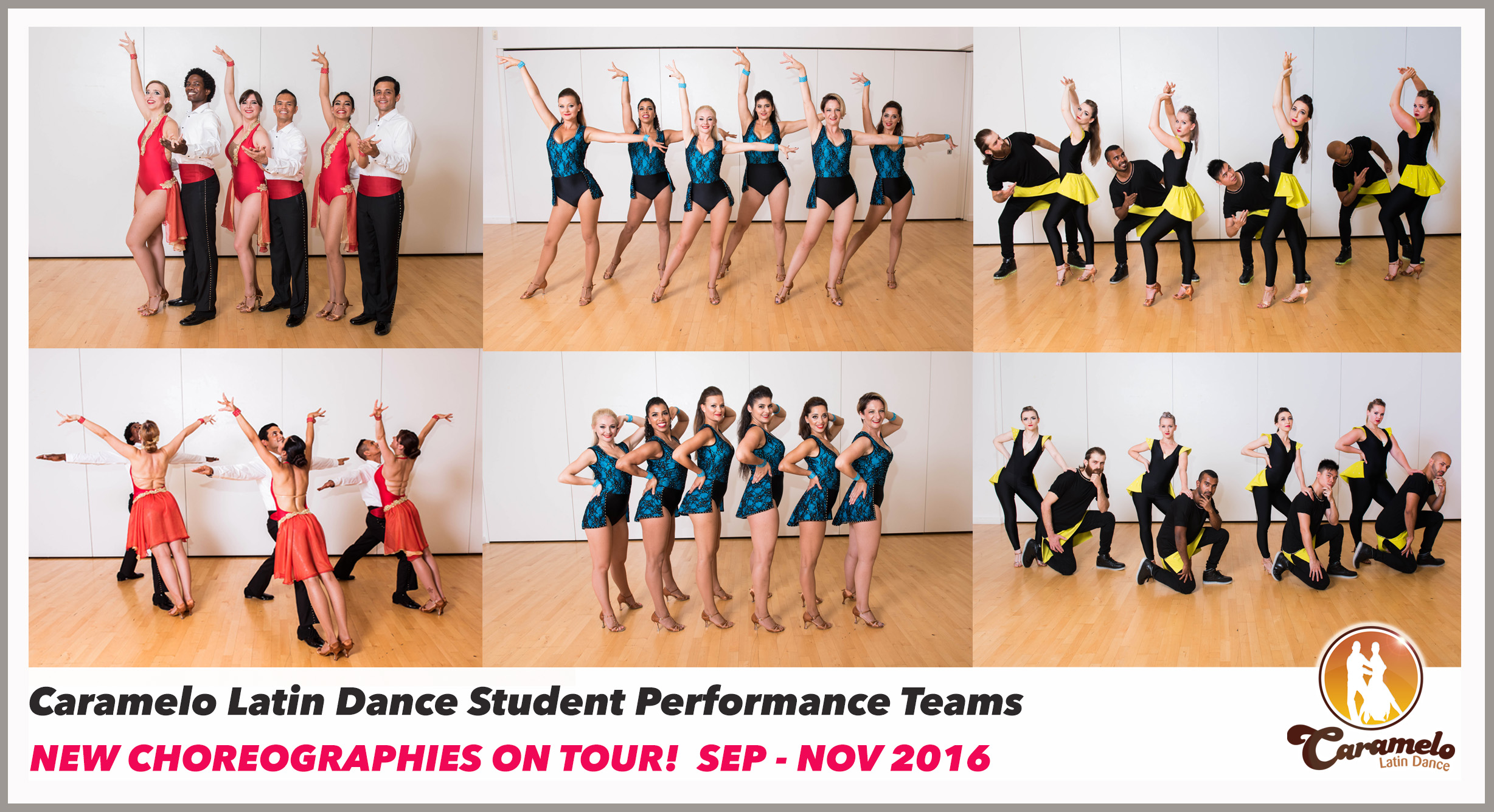Caramelo Latin Dance Student Performance Teams - New Shows