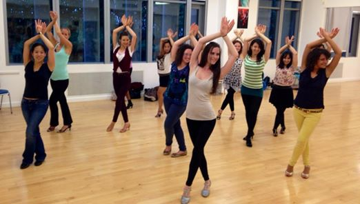 Salsa Ladies Styling Classes at Caramelo