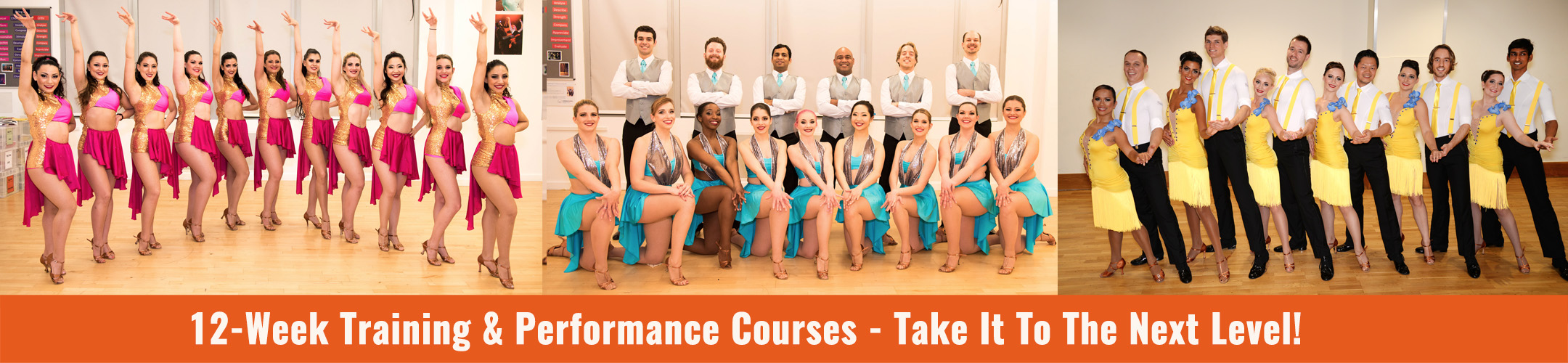 Latin Dance Performance Courses Banner