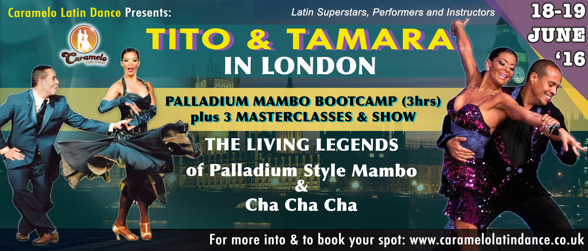 London Workshops with Tito & Tamara