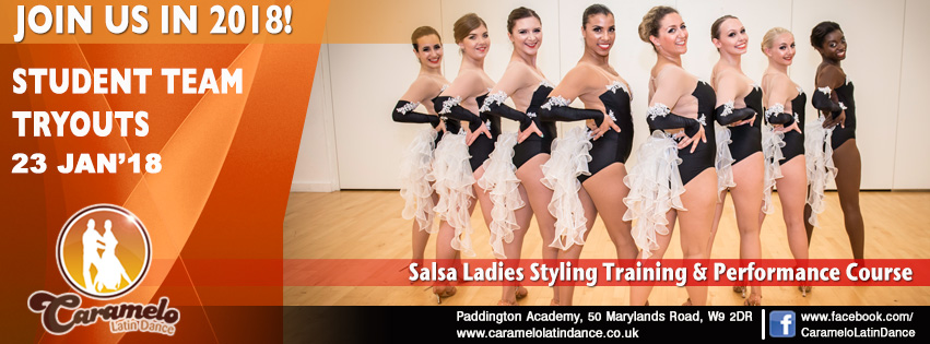 salsa ladies styling performance course