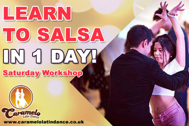 Intensive Salsa Beginners Workshop at Caramelo Latin Dance