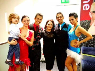 Caramelo Latin Dance on BBC1 live with Gloria Estefan